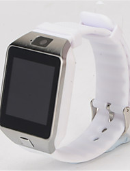 Kid's Smart Watch Digital Rubber Band Black White