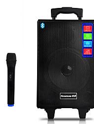 Newmine SL-308M Speaker Bluetooth 2000Amh 8-inch Speaker ABS Anti-Skid