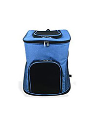 Cat Dog Carrier & Travel Backpack Dog Pack Pet Carrier Portable Breathable Solid Blue Green