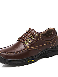 Men's Loafers & Slip-Ons Formal Shoes Comfort Light Soles Cowhide Fall Winter Casual Outdoor Office & Career HikingFormal Shoes Comfort