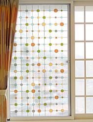 Window Film Window Decals Style Simple Dot Grind Arenaceous PVC Window Film- (60 x 116)cm