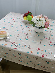 European-style Small Iron Tower Cotton And Linen Material Modern Tablecloth 60*60cm
