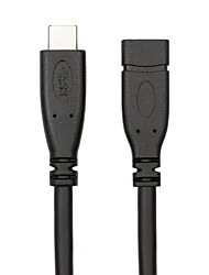 USB 3.1 Type C Адаптер, USB 3.1 Type C to USB 3.1 Type C Адаптер Male - Female 1.0m (3FT)