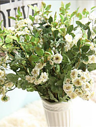 10 Peças 10 Ramo Seda Lilás Flor de Mesa Flores artificiais