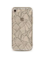 Caso para el iphone 7 más 7 cubra el caso suave de la contraportada del patrón de la cubierta para el iphone 6s más 6 más 6s 6 se 5s 5c 5