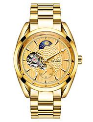 Homens Relógio Esportivo Relógio Esqueleto Relógio de Moda relógio mecânico Chinês Automático - da corda automáticamenteCalendário