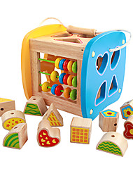 Pretend Play Music Toys Educational Toy For Gift  Building Blocks Natural Wood 3-6 years old Toys