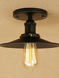 Подвеска свет ретро картина страны для эдисона лампочка мини-стиль дизайнеры металлизация комната спальня столовая комната кабинет /