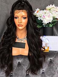 Nouveau style sans traitement peluche perruque frontale 150% de densité perruques cheveux brésiliens avec cheveux bébé pour femmes