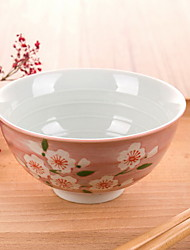Creative Hand-painted Clover Japanese Bowl Tableware Set Rice Bowl