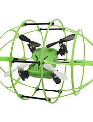 Skytech M69 4CH 2.4GHz Climb RC RTF Quadcopter Drone w 6-Axis Gyro with Rugby Football Protective Cover