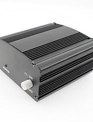 Phantom power 48v suministro con adaptador 3m audio xlr cable para condensador micrófono estudio música voz grabación equipmen