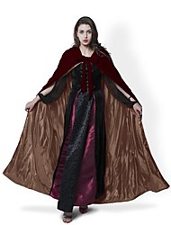 Coat Cosplay Costumes Cloak Witch Broom Masquerade Halloween Props Party Costume Wizard/Witch Ghost Vampire Cosplay Festival/Holiday