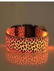 Colliers Portable Eclairage LED Clignotant Sécurité Ajustable Points Polka