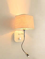 Fabric Wall Lamp Country Modern/Contemporary Feature for LED Mini StyleAmbient Light Wall Sconces Wall Light