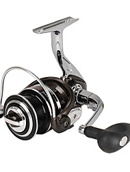 HiUmi Full Metal Light Spool Jigging Trolling Long Shot Casting Saltwater Surf Spinning Big Sea Fishing Reel 4000-7000
