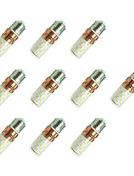 8W LED a pannocchia T 60 SMD 2835 800 lm Bianco caldo Bianco V 10 pezzi