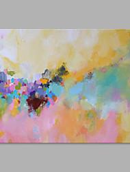 Pintados à mão Moderno Horizontal,Estilo Moderno 1 Painel Tela Pintura a Óleo For Decoração para casa
