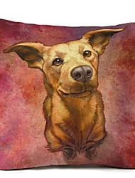 1 pezzi Lino Federa,Con cagnolino Moderno/Contemporaneo