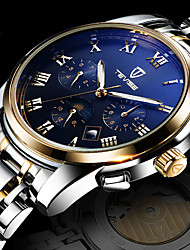Mens Watches Top Brand Luxury Automatic Mechanical Watch Men Full Steel Business Waterproof Sport Watches Relogio Masculino