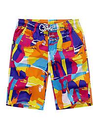 Per uomo Pantaloncini da corsa Asciugatura rapida Casual Pantaloncini /Cosciali per Corsa Esercizi di fitness Tessuto sinteticoL XL XXL
