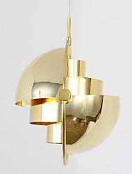 Post modern europe style rotate shade золотой цвет люстра лампа для спальни / гостиной / столовая / бар / вход украшают светильники