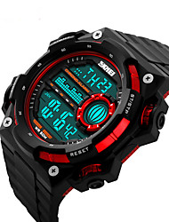 Smart Watch Etanche Longue Veille Sportif Multifonction Chronomètre Fonction réveille Chronographe Calendrier Double Fuseaux Horaires