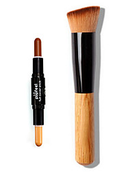 1pcs Concealer Contour Foundation Makeup Brush Wet Pens Concealer Face Daily