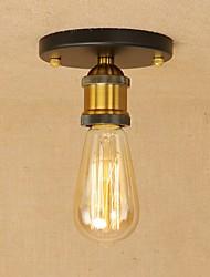 Vintage loft lámpara de techo de metal empotrado montaje pasillo comedor dormitorio cocina antigua lámpara