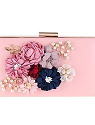 L.WEST Women's fashion flower at hand bag