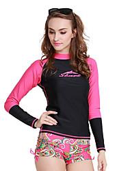 SBART Dámské Mokré obleky elastan Čínský nylon Diving Suit Dlouhý rukáv Potápěčské obleky Vrchní část oděvu-Vodní sporty Potápění
