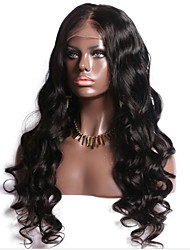 2017 Summer New Style Full Lace Human Hair Wigs with Baby Hair Brazilian Virgin Human Hair for Black Women Natural Hairline Shipping Free