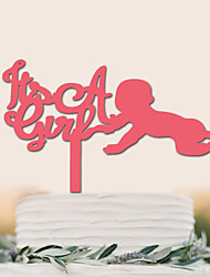 Acrylic celebrates the birthday cake decoration of baby cake wedding cake