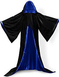 Casaco Fantasias de Cosplay Capa Vassoura de Bruxa Artigos de Halloween Festa a Fantasia Baile de MáscaraSuper-Heróis Morcegos Mago/Bruxa