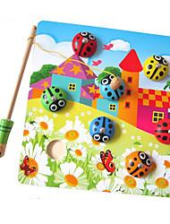 Blocos de Construir Brinquedos de pesca para presente Blocos de Construir Quadrada 1-3 anos 3-6 anos de idade Brinquedos