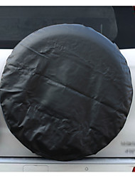 PVC Leather Spare Tire Cover Wheel Tire Cover black with no logo universal for Jeep CR-V RV SUV trailer truck R14-R15-R16-R17 Tire