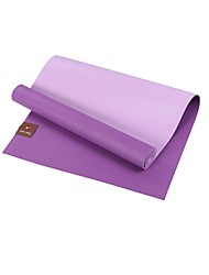 Borracha natural Yoga Mats Non-Slip 5 mm