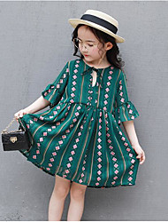 Robe Fille de A Carreaux
