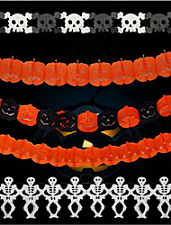 100% pulpe vierge Décorations de Mariage-1 Pièce Halloween Fête/Soirée