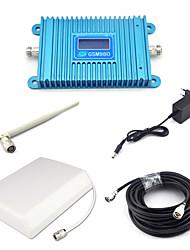 Gsm980 gsm 900mhz amplificateur de signal 2g répéteur de signal amplificateur de signal de téléphone mobile avec panneau antenne / omni