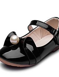 Girls' Flats Comfort Flower Girl Shoes Leatherette Spring Fall Wedding Casual Party & Evening Dress Comfort Flower Girl ShoesImitation