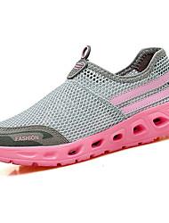 Femme Chaussures d'Athlétisme Confort Semelles Légères Polyuréthane Printemps Automne Athlétique Marche Confort Semelles LégèresTalon