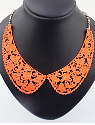 Collar Necklace Women's Girls' Alloy Business Party Graduation Movie Jewelry