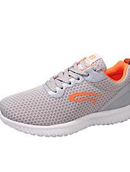 Femme Chaussures d'Athlétisme Confort Chaussures formelles Tulle Automne Athlétique Marche Confort Chaussures formelles Lacet Talon Plat