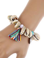 Femme Chaînes & Bracelets Charmes pour Bracelets Bracelets Mode Bohême Fait à la main Résine Alliage Forme Géométrique Bijoux Pour
