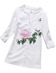 Top o camicia Lolita Classica e Tradizionale Lolita Cosplay Vestiti Lolita Con stampe Manica corta Lolita Camicia Per Stoffa (cotone)