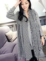 Scarf Plaid Thickening Lengthening Women's Korea Scarves Shawl Long Rectangle Winter Lady's Bohemia Valentine Christmas Gift
