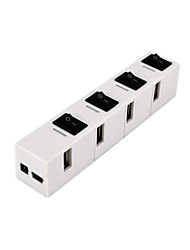CQT-H020 HUB USB2.0 480 Mbps High-Speed 4 Ports with Switch