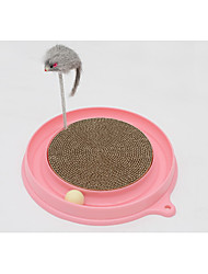 Brinquedo Para Gato Brinquedos para Animais Interativo Trilho de Bolinhas