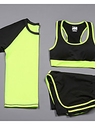 Women's Running Compression Clothing Tracksuit Cycling Camping & Hiking Fitness, Running & Yoga Calories Burned Outdoor MultifunctionAll